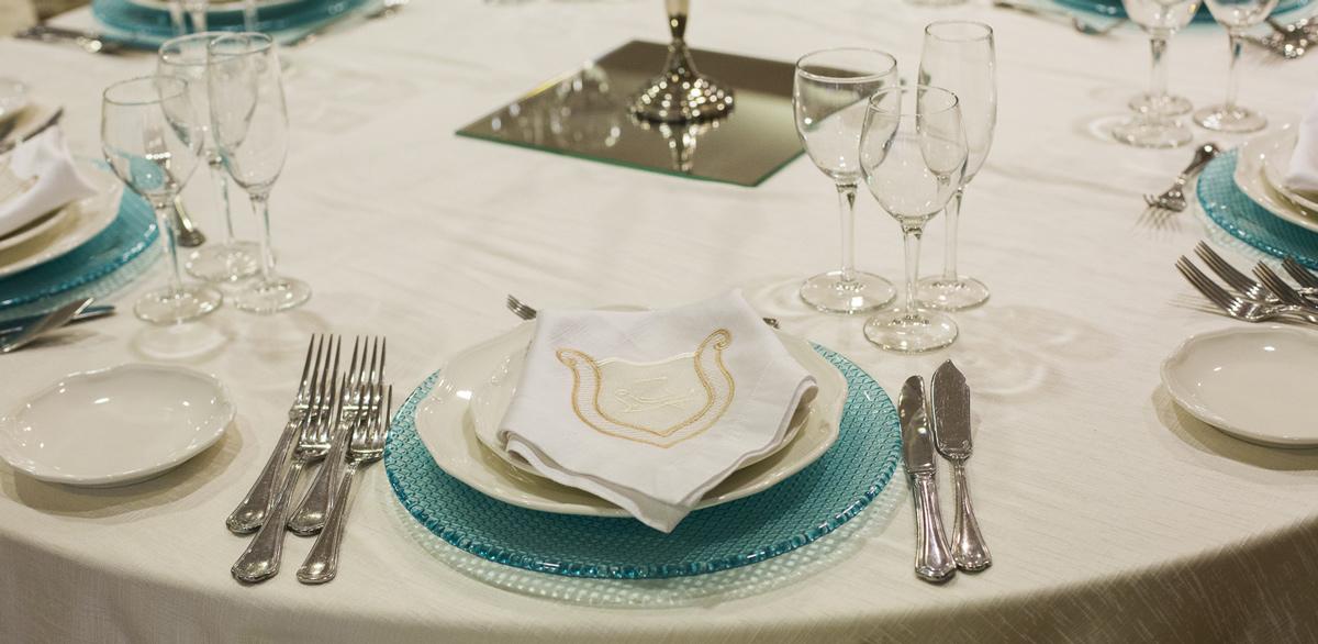 Servizio piatti Elite con Tiffany